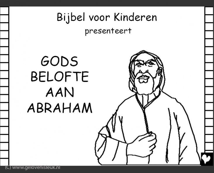 Gods Belofte Aan Abraham Clipart Geloven Is Leuk