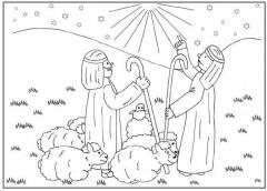 Kleurplaten Kerst Clipart Geloven Is Leuk