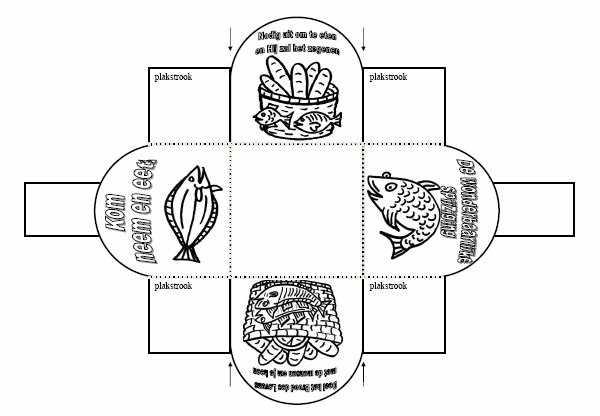 Kleurplaten Eucharistie.Kleurplaat Brood Des Levens Eucharistie R K Heilige Bernardus Van