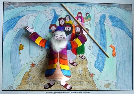 Met Mozes Door De Rode Zee