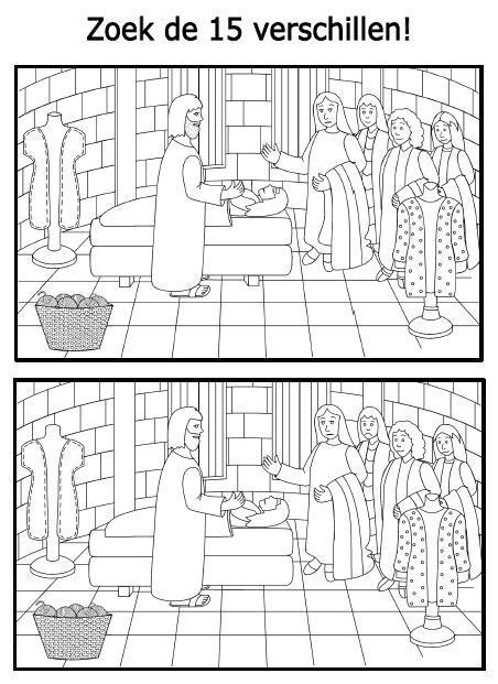 Kleurplaten Puzzels Woordzoeker Dorcas Zoek De Verschillen